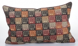 Natural Rectangle Guinea Fowl 55x34 cm